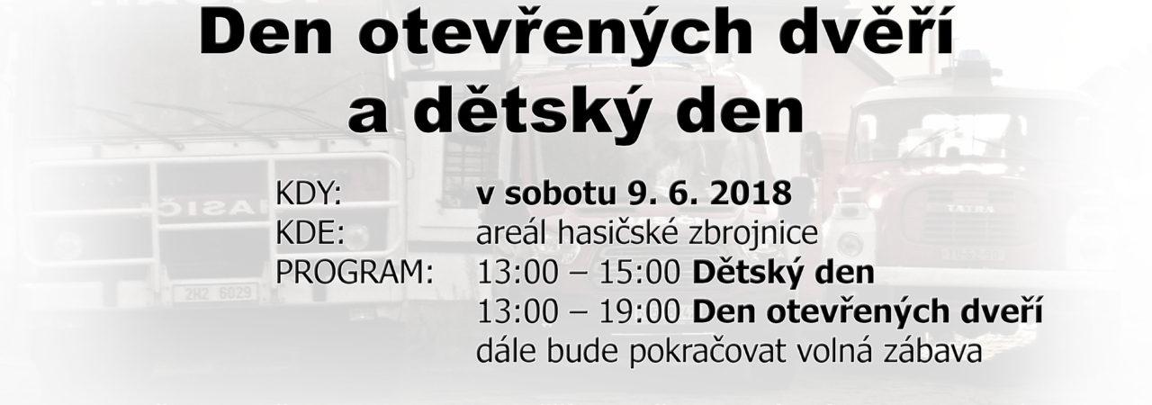 Den otevřených dveří SDH Hajnice