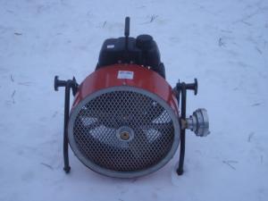 Přetlakový ventilátor Honda